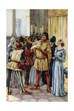 Vintage Picture Card Depicting Scene from the Opera Gianni Schicchi, 1918 Giclee Print by Giacomo Puccini