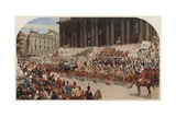 Queen Victoria's Diamond Jubilee, St Paul's Cathedral, London, 22 June 1897 Giclee Print by Andrew Carrick Gow