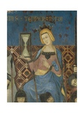Allegory of Good Government, Temperance Giclee Print by Ambrogio Lorenzetti