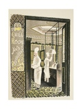 Restaurant and Grill Room Giclee Print by Eric Ravilious