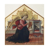Announcing Angel, Left Panel of the Annunciation, 1467-1468 Giclee Print by Bartolomeo Caporali
