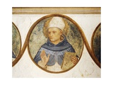 Dominican Order Genealogical Tree with Portrait of St. Albert, Detail from Crucifixion with Saints Giclee Print by  Fra Angelico
