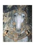 Horse in a Harness, Detail from St George and the Princess, 1433-1435 Giclee Print by Antonio Pisanello
