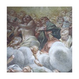 Figure of Eve, Detail from Assumption of Virgin in Heaven Giclee Print by Antonio Allegri Da Correggio