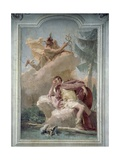 Mercury Appearing to Aeneas in Dream to Order Him to Go to Carthage Giclee Print by Giambattista Tiepolo
