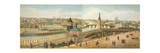 View Down River from the Kremlin Including the Church of Our Saviour Giclee Print by Dmitri Indieitzeff
