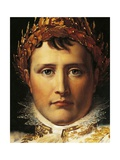 Napoleon Bonaparte in Emperor's Rodes, Circa 1805 Giclee Print by Francois Gerard
