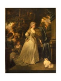 Portrait of H.R.H. Frederica Charlotte Ulrica, Princess Royal of Prussia and Duchess of York, 1792 Giclee Print by John Hoppner