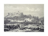 Storming of Chapultepec Castle by American Troops, September 14, 1847 Giclee Print by Carl Nebel