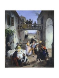 Wedding in Brianza, 1873 Giclee Print by Angelo Inganni