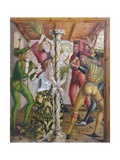 St Catherine Tortured, Scene from the Left Door of the Altar of Saint Catherine of Alexandria, 1480 Giclee Print by Friedrich Pacher