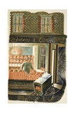 Baker and Confectioner Giclee Print by Eric Ravilious