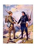 Frères Alpins' Giclee Print by Oswaldo Tofani