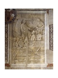 Trajan's Departure on Second Dacian Campaign, Scene from Cycle on Trajan's Column, 1511-1513 Giclee Print by Baldassare Peruzzi