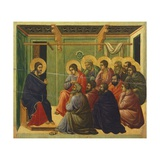 Christ Is Separated from the Apostles Giclee Print by Duccio Di buoninsegna
