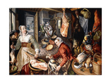The Four Elements Giclee Print by Joachim Beuckelaer