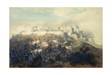 The Storming of Chapultepec Castle by American Troops, September 14, 1847 Giclee Print by Carl Nebel