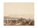 Evacuation of Wounded, Detail, from Battle of Jena, October 14, 1806 Giclee Print by Benjamin Zix