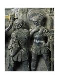 Beheading of John the Baptist Giclée-Druck von Andrea del Verrocchio