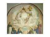 The Coronation of the Virgin Giclee Print by  Fra Angelico