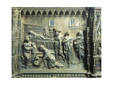 Birth of St John the Baptist, Detail from Relief of St John Baptist Altar Giclee Print by Andrea del Verrocchio