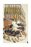 Hams Giclee Print by Eric Ravilious