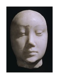 Death Mask of Queen Jeanna De Laval, Wife of Renato D'Angou Giclee Print by Francesco Laurana