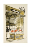 Oyster Bar Giclee Print by Eric Ravilious