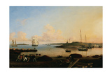 The Fort and Ten Pound Island. Gloucester, Massachussetts, 1847 Giclee Print by Fitz Henry Lane