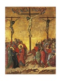 Crucifixion, Detail of Tile from Episodes from Christ's Passion and Resurrection Giclee Print by Duccio Di buoninsegna