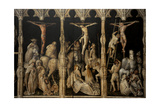 Crucifixion with Saints Coloman, Quirin, Castor and Chrysogonus, Ca. 1440 Giclee Print by Gabriel Angler