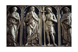 Statues in Glazed Terracotta, Part of the Altar Frontal from the Altar Giclee Print by Andrea Della Robbia