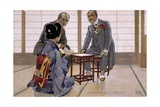 Postcard by Leopoldo Metlicovitz Created on Occasion of Premiere of Opera Madame Butterfly Giclee Print by Giacomo Puccini