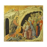 Christ's Journey in the Kingdom of the Dead Giclee Print by Duccio Di buoninsegna