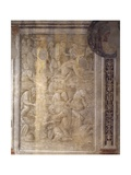 Defeat of Dacian Cavalry, Scene from Cycle on Trajan's Column, 1511-1513 Giclee Print by Baldassare Peruzzi