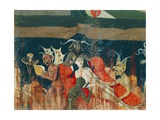 Demons and Damned in Hell, Detail from Coronation of Virgin Altarpiece, 1454 Giclee Print by Enguerrand Quarton