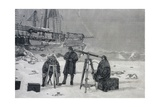 Observation of the Solar Eclipse of April 6, 1894 Giclee Print by Fridtjof Nansen