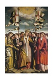 Saint Ursula and Her Martyred Companions, 1530 Giclee Print by Alessandro Bonvicino