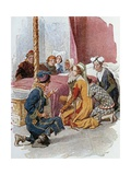 Print Depicting a Scene from Gianni Schicchi, 1922 Giclee Print by Giacomo Puccini
