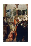 The Body of St. James Brought before Queen Lupa of Spain Giclee Print by Marx Reichlich