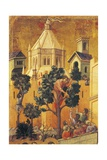 Entry of Christ into Jerusalem, Detail of Tile from Episodes from Christ's Passion and Resurrection Giclee Print by Duccio Di buoninsegna