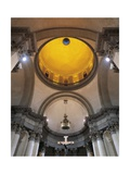 Italy, Venice, Basilica of Most Holy Redeemer, Interior View of Dome Giclee Print by Andrea Palladio