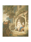Returned from Market, Engraved by W. Annis, Pub. by Morgan and Pearce, 1803 Giclee Print by Francis Wheatley