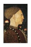 Portrait of Lionello D'Este, Circa 1441 Giclee Print by Antonio Pisano