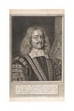 Edward Hide, from 'Historical Memorials of the English Laws' by William Dugdale, London 1666 Giclee Print by David Loggan