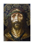 The Face of Christ or the Suffering Christ, 1515-1525 Giclee Print by Joan Gasco
