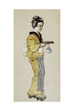Costume Sketch for Role of Suzuki in First Act of Opera Madame Butterfly, 1904 Giclee Print by Giacomo Puccini