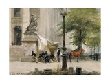 Encampment in Place De La Boure, June 4, 1871, During Siege of Paris Giclee Print by Isidore Pils