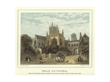 Wells Cathedral Giclee Print by Hablot Knight Browne