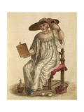 Lady Putting on Her Make-Up Giclee Print by Jan van Grevenbroeck